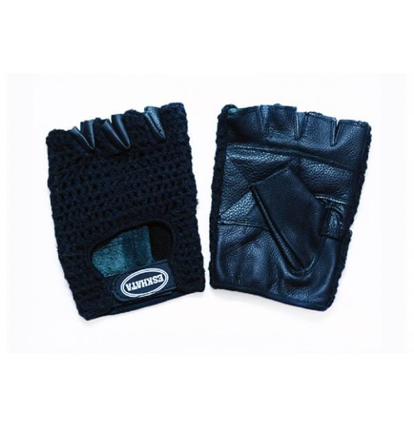 Перчатки Кожа/Лайкра