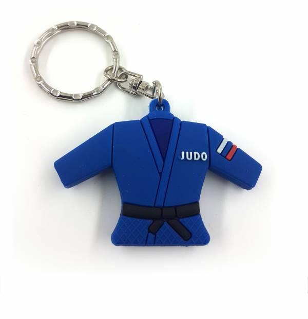 Брелок сувенирный Дзю-до ESKHATA (резиновый) синий